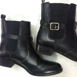 Croft & Barrow Leather Ankle Boots Size 8